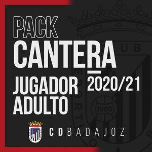 CD BADAJOZ - PACK JUGADOR ADULTO 20/21