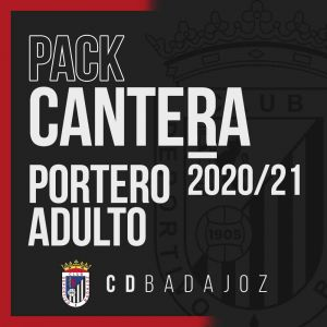 CD BADAJOZ - PACK PORTERO ADULTO 20/21