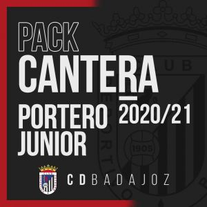 CD BADAJOZ - PACK PORTERO JUNIOR 20/21